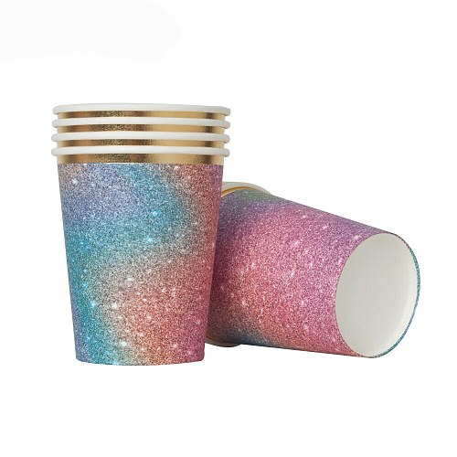 Symphony Galaxy Star Birthday Party decorations adult wedding Decoration Party Supplies Paper plates Cup disposable tableware