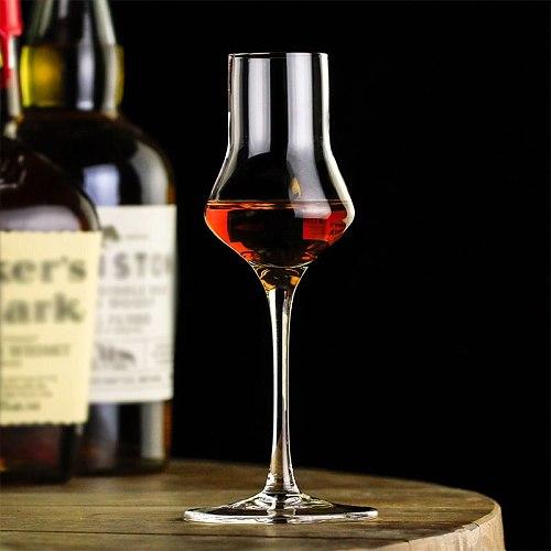 Niche Blended Whisky Tasting Glass Goblet Sommelier Whiskey Rum Liquor Crystal Wine Cup Fragrance-smelling Winebowl Snifer Vaso