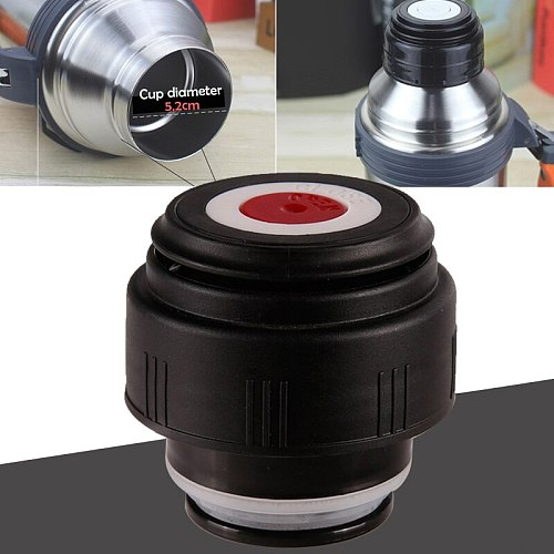 1 Pcs 5.2cm Thermo Cover Vacuum Bottle Lid Thermo Cup Outdoor Travel Cup Bullet Cover In Stock