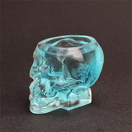 350ml Shot Glass Cocktail Beer Skull Glass Whiskey Skull Glass beer stein shot wine glass Head