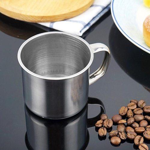 200ml Mug Portable Outdoor Travel Stainless Steel Coffee Tea Mug Cup Camping Travel Mini Mug Drinking Mug