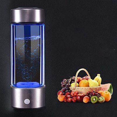 Hydrogen Water Bottle Filter Ionizer Generator Maker Energy Cup Healthy Anti-Aging Alkaline Bottle Electrolysis Drink Hydrogen