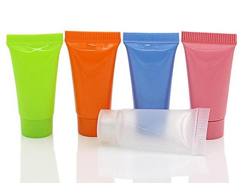 10PCS Cosmetic Soft Tube 5/10ml plastic Lotion Containers Empty Makeup squeeze tube Refillable Bottles Emulsion Cream Packaging