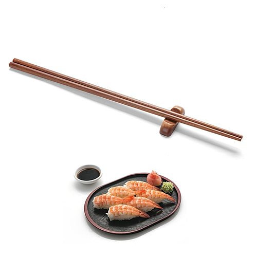 Wooden Cooking Chopsticks for Hot Pot Noodles 42cm Length