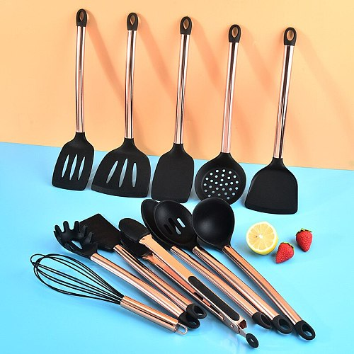 Modern Kitchen Multi-Purpose Silicagel Cooking Tool Convenience Household Spoon Spatula Colander Cookware Kitchenware Accessorie