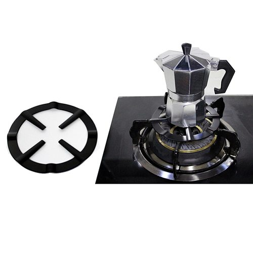 Hot Metal Coffee Maker Shelf Stove Top Reducer Support Pot Simmer Ring Kitchen Tool