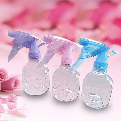 3PC New Plastic Spray Bottle Water Mist Sprayer Style Haircut Salon Barber Wash Hair Conditioner Lotions Press Dispenser #7