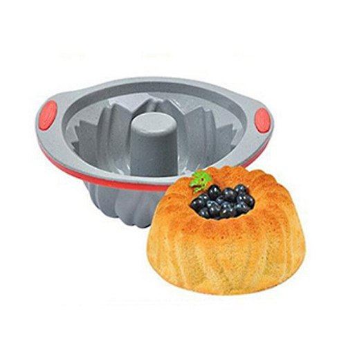 Silicone Cyclone Shape Round Rectangle Mold Silicone Cake Toast Bread Tray Non-stick Mold Baking Pan Decorating Cake Baking Tool