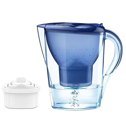 3.5L  Water Pitcher Kitchen  Household Water Filter Activated Carbon Filter  Jug Kettle Water Purification Equipment with Timer