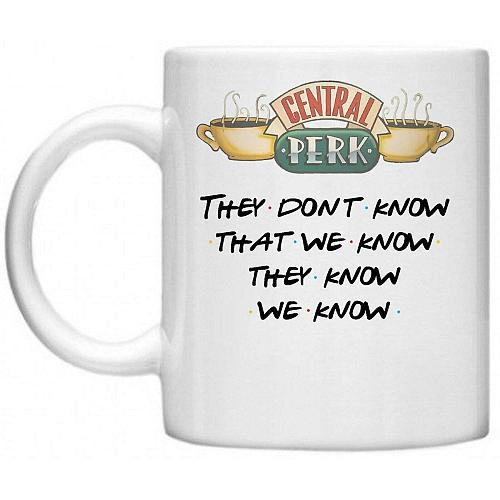 2020 Friends Mug 11oz Central Perks Mugs Ceramic Tea Milk Wine Beer Friend Gifts Novelty Travel Anniversary Gift Drop Shipping