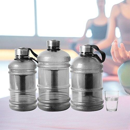 1/1.5/2.2L Large Capcity Water Bottle Shaker Bottle Outdoor Portable Leakproof Fitness Running Training Plastic Sports Bottles