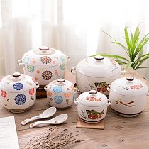 Ceramic Soup Pot Ceramic Cooker Kitchen Pot  Hot Cook Pot  Cooking Pots and Pans Set  Hogar Cocina Cookware Soup Pot Cooker