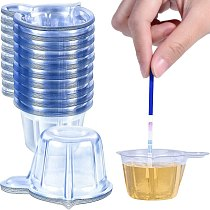 300 Pieces Urine Cups Plastic Urine Collection Cups Disposable Urine Specimen Cups for Pregnancy Test, 40 ML