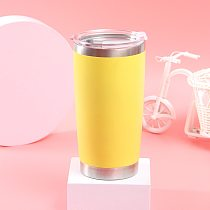 20 OZ Tumbler Vacuum Ice / Hot Water Double Wall Insulated Travel Mug Coffee Stainless Steel Car Portable Thermal Cup Flask