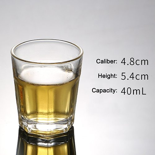 Heavy Base Shots Glass Chineses Style Drinking Tool Bar and Party Glass Tumblers SCVD889