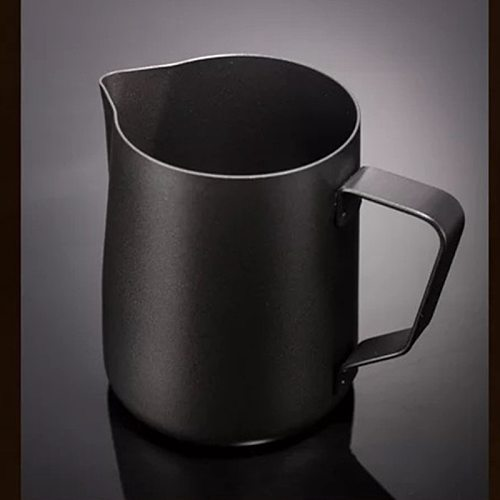 Stainless Steel Frothing Coffee Cup Pitcher Pull Flower Espresso Cappuccino Jug Milk Pot Frother Latte Art maker