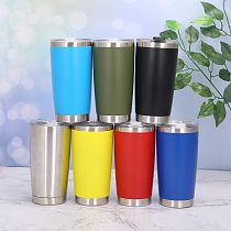 20 OZ Stainless Tumbler Vacuum Double Wall Insulation Travel Mug Coffee Tumbler Insulated Stainless Steel Thermal Cup