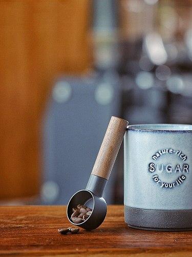 Portable Practical Durable Natural Wood Coffee beans Spoons Scoop For Coffee Tea Powder Measure Spoon Flatware Wood Spoons Tools