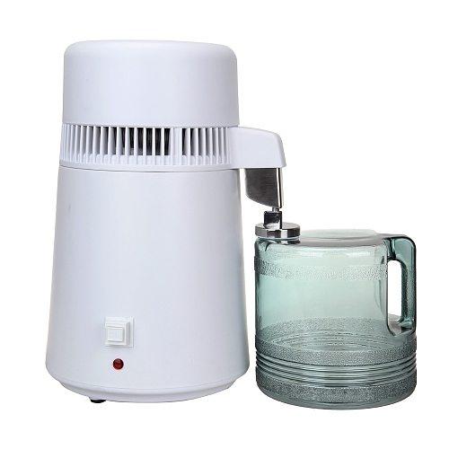 (Ship from EU) 4L Pure Water Distiller Filter Machine Purifier Filtration Hospital Home Office Kitchen Wasser Destillie
