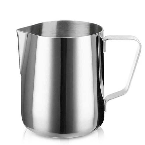 Milk Creamer Frothing Pitcher Stainless Steel, 350/600/1000/1500ml