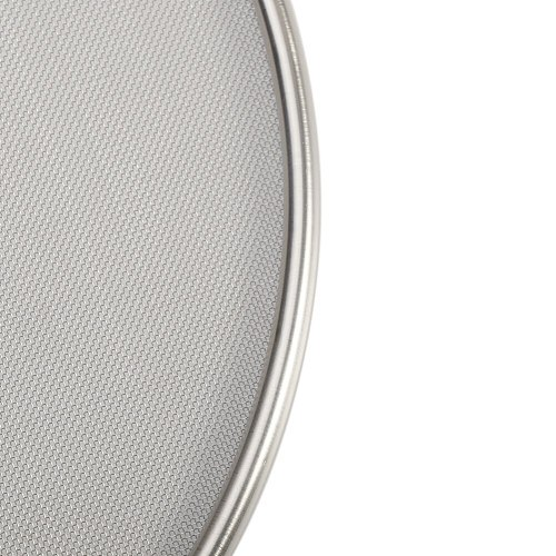 Mesh Pan Lid Splatter Screen Practical Cooking Tool Grease Guard Stainless Steel Kitchen Accessories Protective Oil Resist