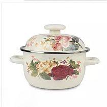 Soup Pot Stew Pot Enamel Pot Persimmon Pot Low Pot Soup Pot Gas Stove Universal Cookware Ceramic Cooking Pot hot pot soup