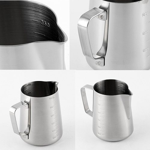 550ml Stainless Steel Pitcher Espresso Milk Coffee Cup Mugs Thermo Latte Art Pull Flower Cup Cappuccino Coffee Tools