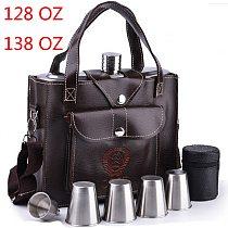 128oz 138oz big hip flasks cccp alcool stainless petaca whisky personalized hip flask drink alcohol flasks metal bottle alcohol