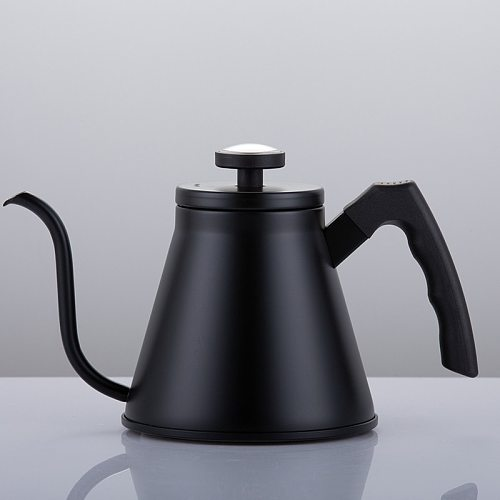 1200ML Stainless Steel Coffee Drip Kettle Coffee Pot Gooseneck Spout Kettle Tea tools With  Thermometer Swan Neck Thin Mouth