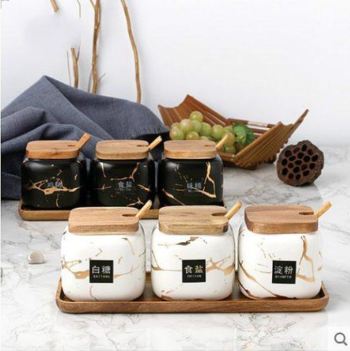 Kitchen Storage Salt Shaker, Kitchen Bottle, Seasoning Jar, Seasoning Box, Kitchen Seasoning Sub-package,