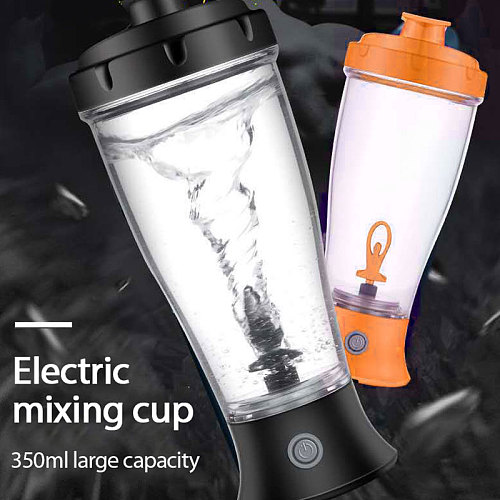 350ml Automatic Self Stirring Mug Coffee Milk Mixing Mug Stainless Steel Cup Electric Lazy Double Insulated Smart Cup Shaker