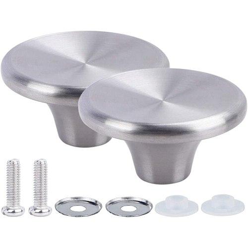 2PCS Dutch Oven Knob, Stainless Steel Pot Lid Replacement Knob for Le Creuset/ for Aldi/ for Lodge, Knob Pot Lid Handle