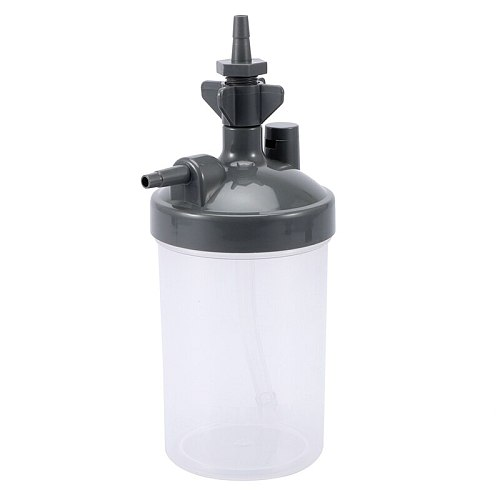New Water Bottle Humidifier for Oxygen Concentrator Humidifier Oxygen Concentrator Bottles Cup Oxygen Generator Accessories