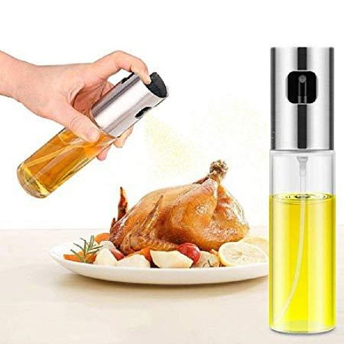 1Pcs Olive Oil Sprayer Bottle Pump Oil Pot Leak-proof Grill BBQ Sprayers Oil Dispenser BBQ Cookware Refillable Bottle Gadgets