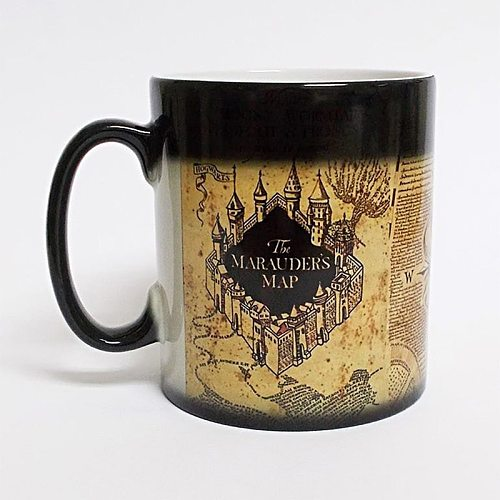 Creative Magic Mug,Color Changing Mug Marauders Map Mischief Managed Wine Tea Cup  Hot Drink Cup Creative Drinkware Gifts