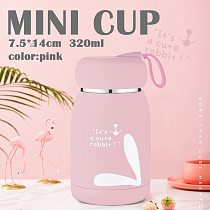320ml Thermos Bottle Stainless Steel Thermal Cup Thermomug Water Bottle Vacuum Flasks Water Terms For Termo Animal Mugs