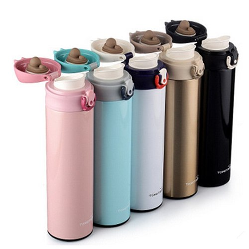 Shinpur High Thermos CupThermo Mug Vacuum Cup 304 Stainless Steel Thermos insulated Mug 450ML&350ML Thermal Bottle flask Cups