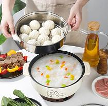 Electric hot pot multi functional household electric cooking pot cooking Stew pot stew pot soup pot  Home kitchen utensils