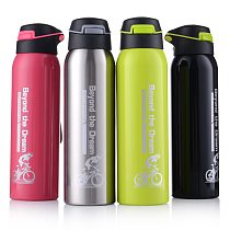 500ML Sport thermos water bottle Thermo Mug Stainless Steel Vacuum Flask mug with straw Insulation Cup Thermoses tthermal bottl