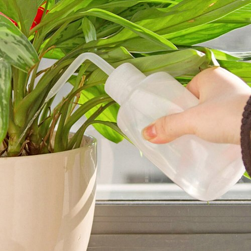 250/500ml Watering Cans Beak Pouring Plant Bend Mouth Squirt Squeeze Bottle Set
