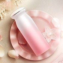 Pearl Conch Stainless steel thermos cup female student cute portable teacup  color changing cups cute water bottle steel tumbler