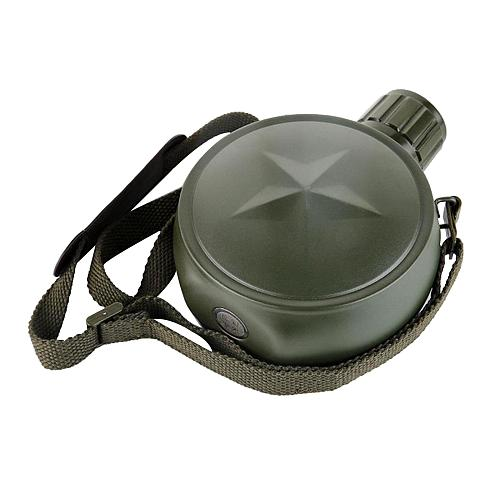 Portable  Style Wine Water Bottle Canteen Drink Cup with Belt Hiking