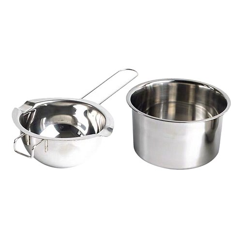 2 Pack Stainless Steel Universal Double Boiler, Candle Making Tools, Melting Pot for Soap Making Supplies Tool