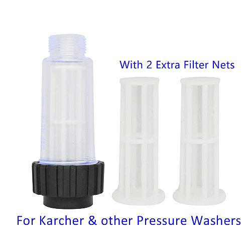 Pressure Washer Water Filter Car Washer Inlet Filter 3/4  High Pressure Washer Water Inlet Filter