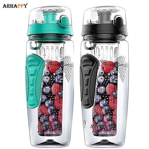 BPA Free Fruit Infuser Water Bottle Juice Shaker Sports Lemon Water Bottle Fitness Sport Fruit Drinking Bottles for Girl