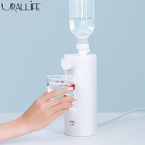 JEMY Portable Water Dispenser Smart Water Bottle Pump LED Display Automatic Drinking Water Pump Electric Water Dispenser