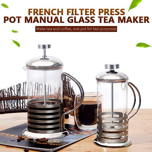 French Press Coffee/Tea Brewer Coffee Pot Coffee Maker Kettle 1000ml Kaffia Gourmet Stainless Steel Thermos For Coffee Drinkware