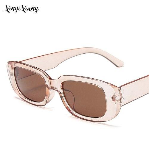 Sunglasses Women Trendy Small Frame Sunglasses Women's Square Sunglasses Olive Green Colorful Street Shooting Decorative Glasses