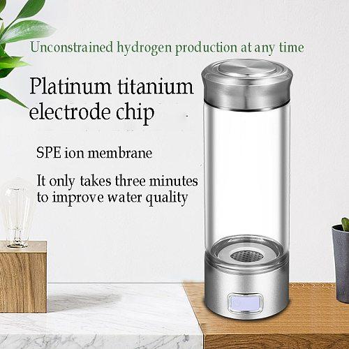 SPE/PEM Hydrogen Water Generator Alkaline Water Filter Ionizer Pure H2 PEM Rich hydrogen-rich Electrolysis Drink Hydrogen