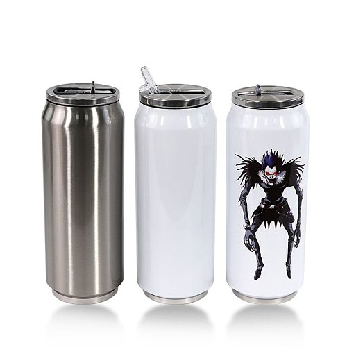 500ml Wholesale DIY Sublimation Cola Shaped Can Insulate Coke Cup Double Vaccum Thermos Portable Tumbler For Best Party Gift
